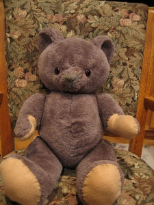 Stuffed and fixed bear.